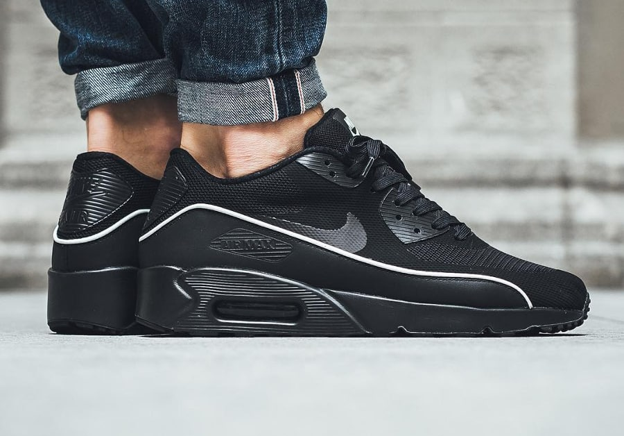 image nike air max 90 ultra 2.0 essential black mint