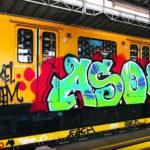 Quand des graffeurs s'approprient les tunnels du métro Berlinois!