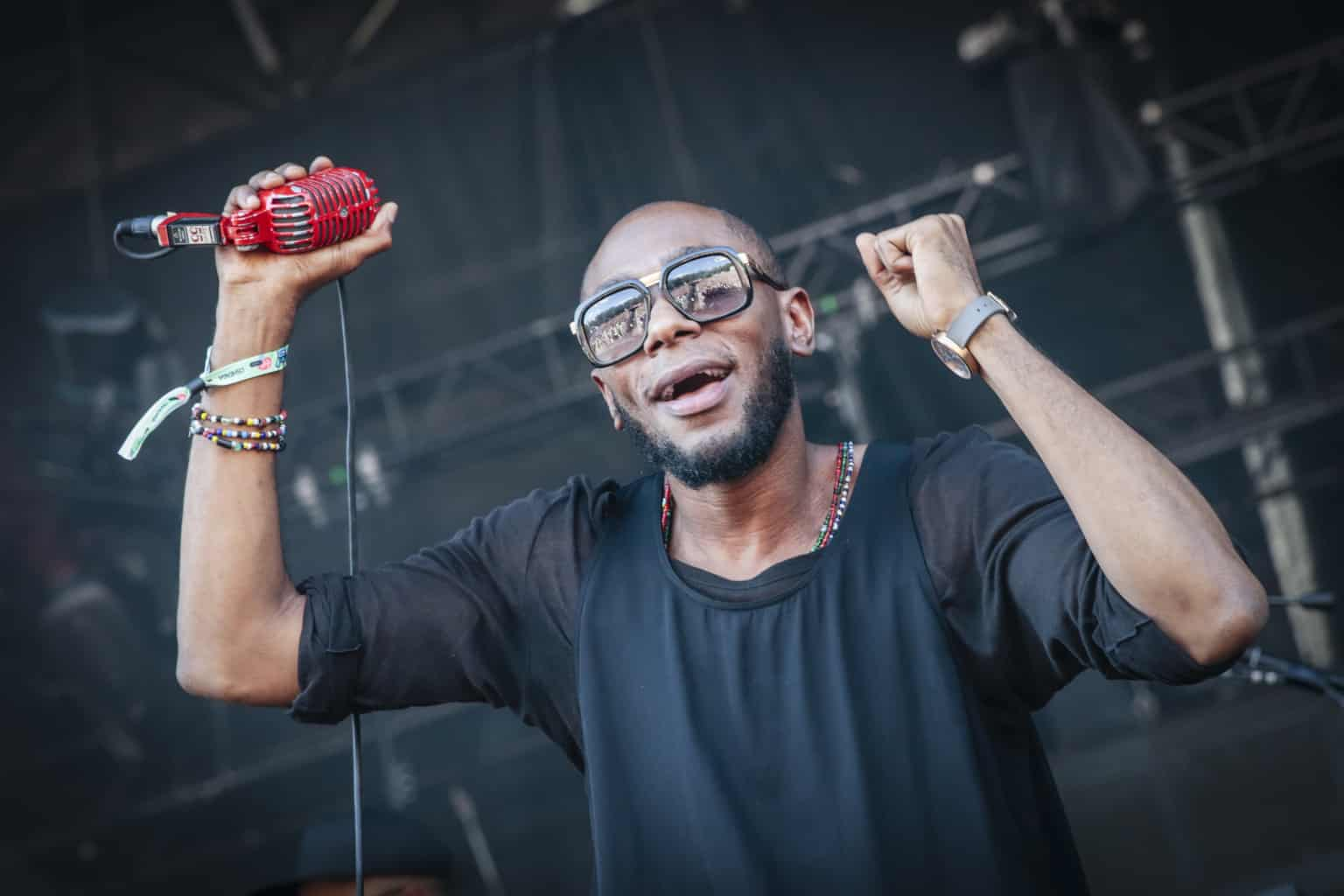image yasiin bey aka mos def concert Toulouse 2020