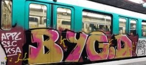 image graff metro paris 8