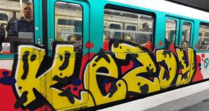 image graff metro paris 5