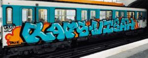 image graff metro paris 6