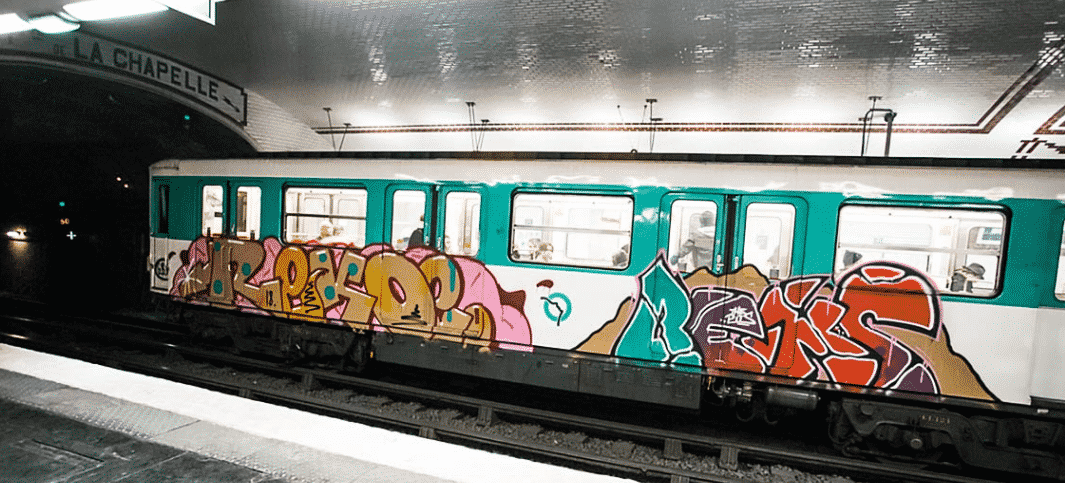 image graff metro paris