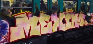image graff metro paris 2
