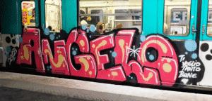 image graff metro paris 4