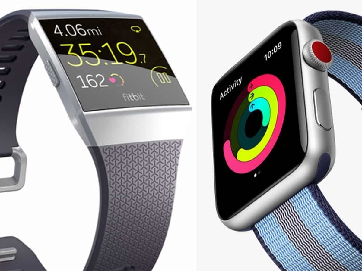 Image - Apple/Fitbit : le combat des montres connectées