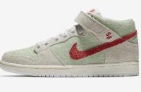 Image - Les Nike SB Dunk Mid White Widow pour le 4/20