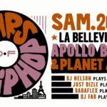 """Free Your Funk présente """"30 years of Hip Hop"""" ce soir à la Bellevilloise !"""