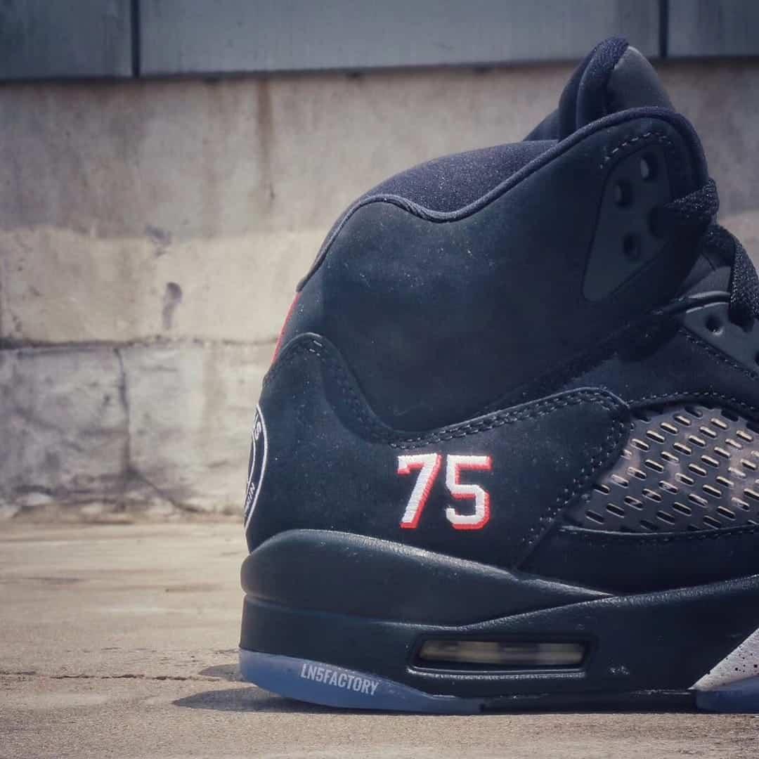 Nike prépare des Air Jordan 5 aux couleurs du PSG ! [Photos]