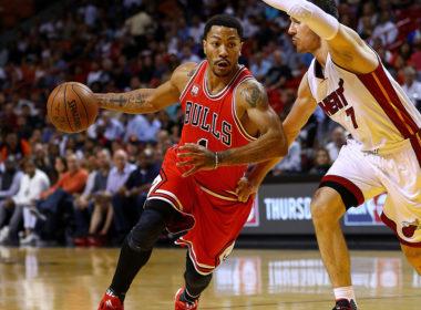 image Derrick Rose Chicago Bulls