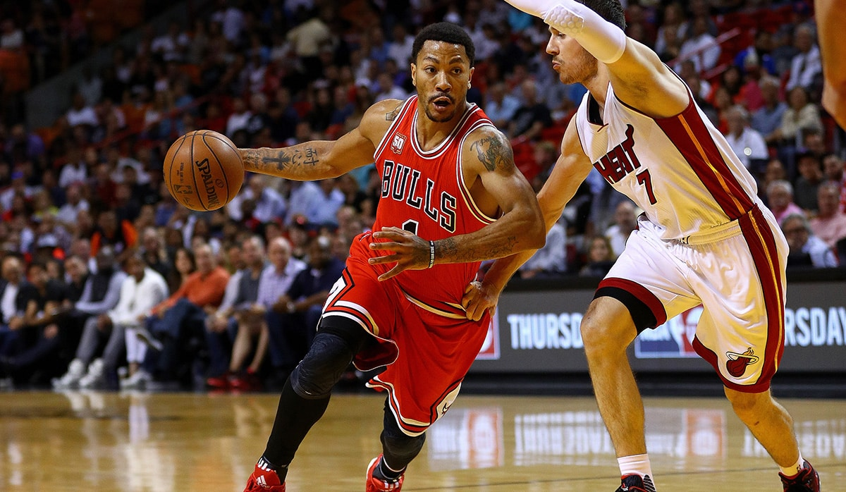 image Derrick Rose Chicago Bulls