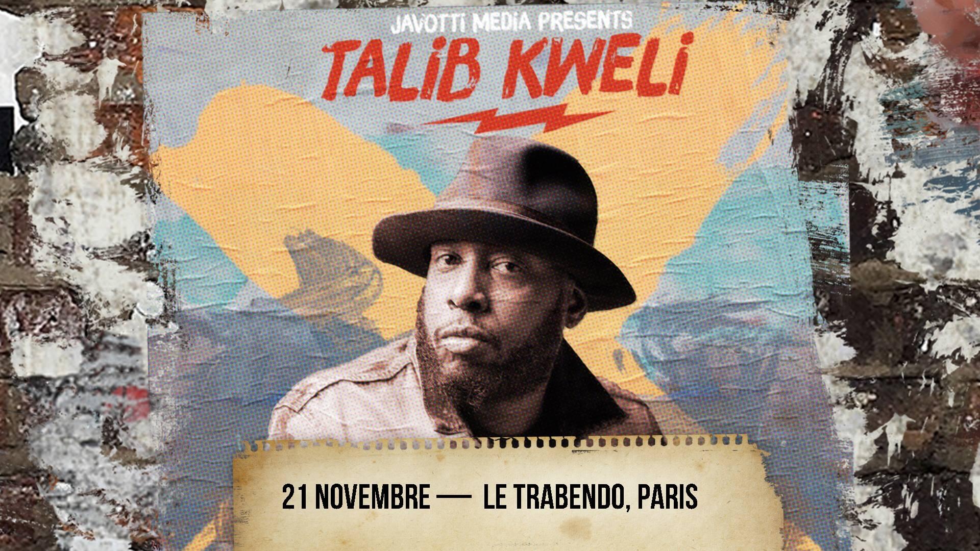 image talib kweli trabendo concert paris 2018