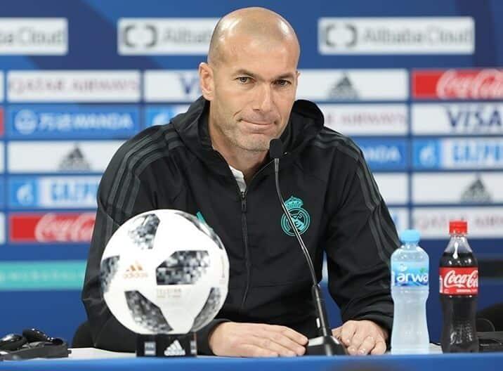 image Zidane Real Madrid 2019