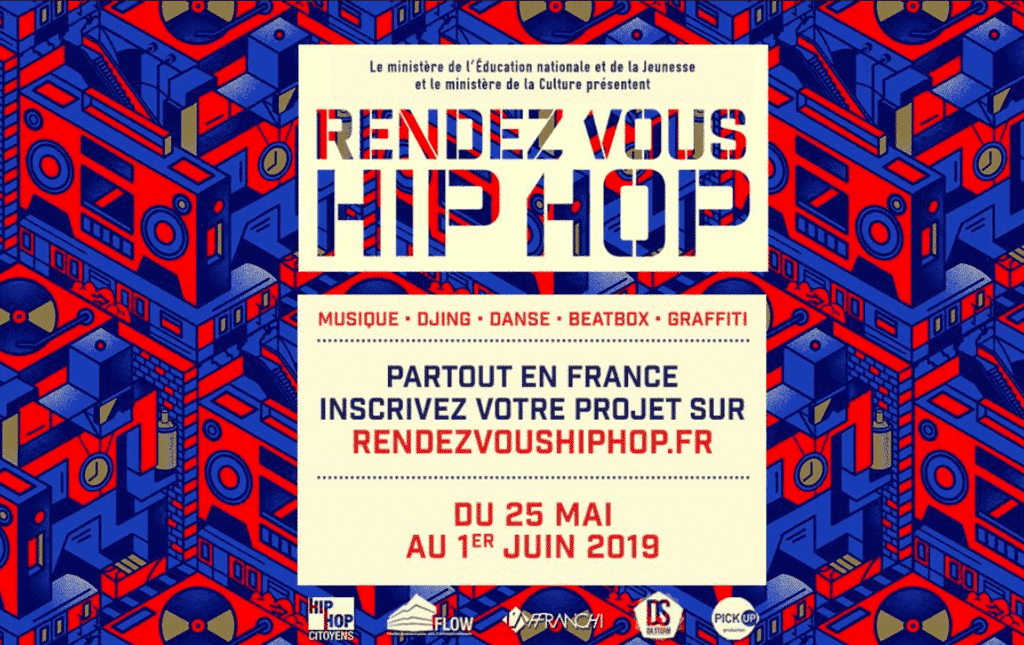 image affiche rendez vous hip hop 2019