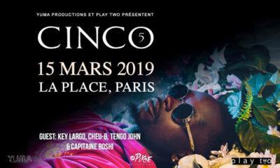 image cinco concert paris 2019