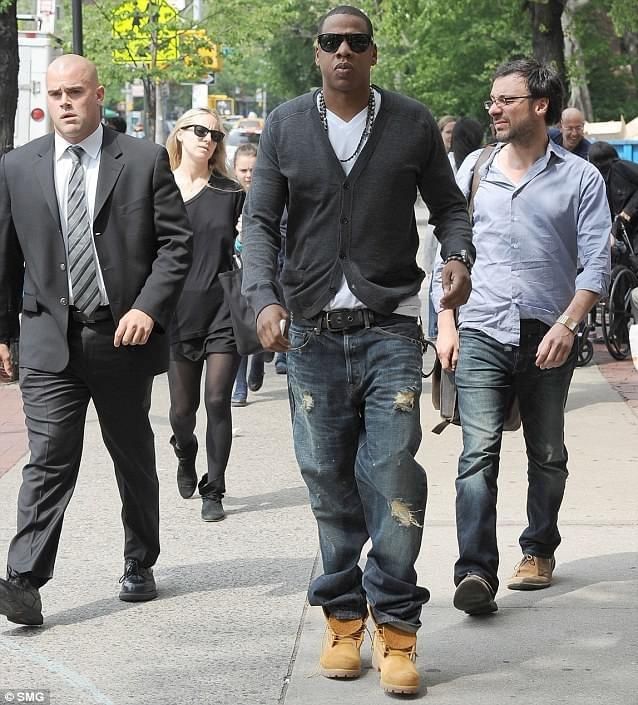 image jay z with baggy timberland