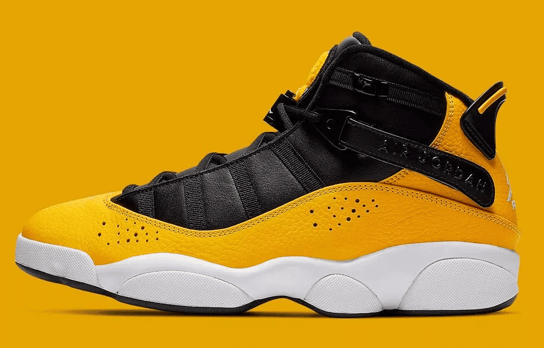 air jordan 6 rings jaune