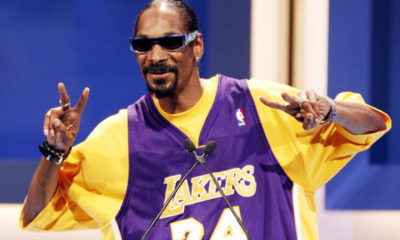image snoop dogg lakers