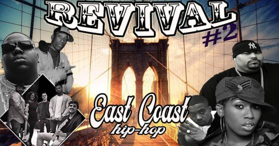image soirée rap revival eastcoast westcoast