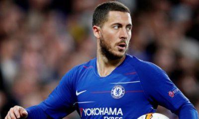 Image Eden Hazard Chelsea nouveau maillot