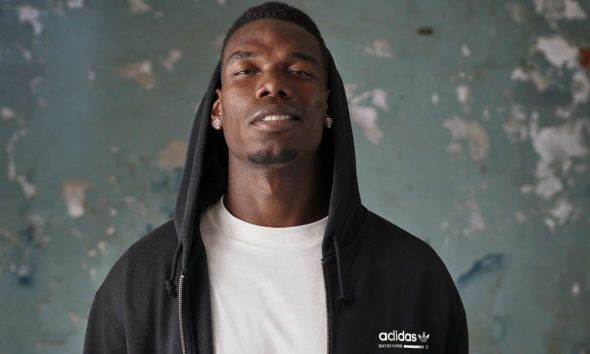 Image Pogba Adidas sortie cinquième collection