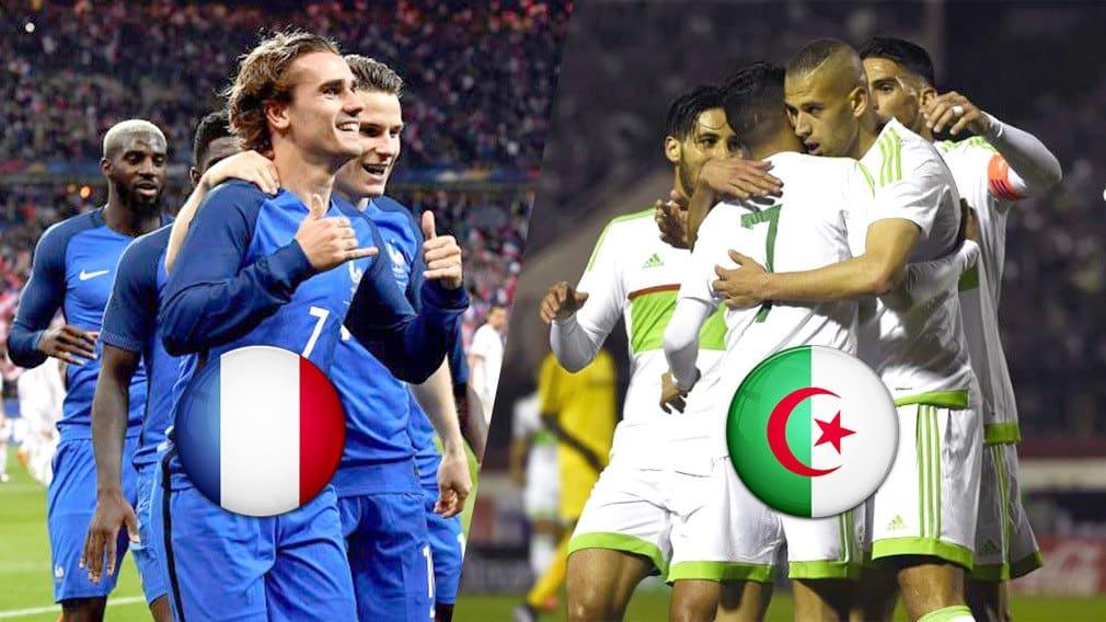 image algérie-france footbal 2020