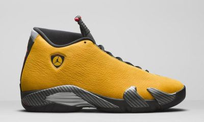 image air jordan 14 ferrari golden