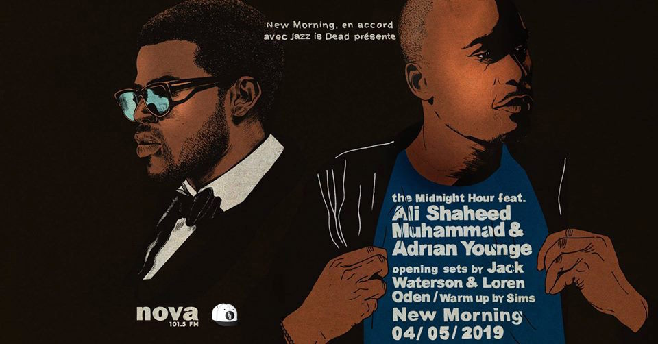 image ali shaheed muhammad & Adrian younge new morning concert