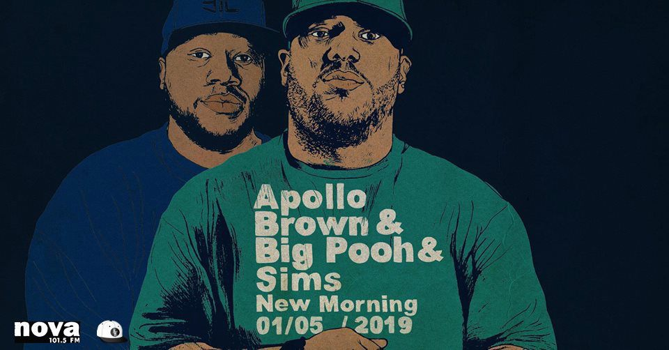 image apollo brown big pooh concert new morning 2019