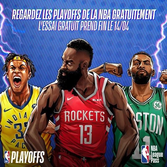 image league pass gratuit nba playoffs 2019