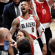 image lillard célébration vs thunder playoffs 2019
