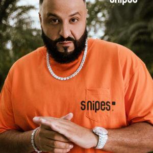 image Khaled snipes teeshirt orange