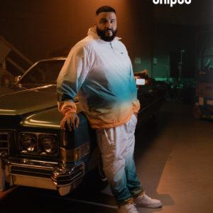 image khaled snipes survetement blanc