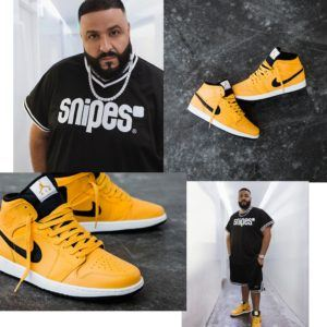 image khaled snipes sneakers air jordan 1 mid