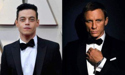 image rami malek méchant james bond 25