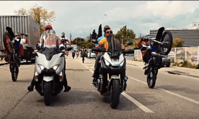 image clip alonzo jul sur la moto