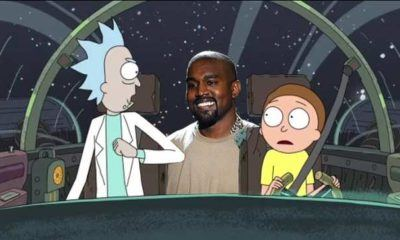 Image Kanye West Rick and Morty