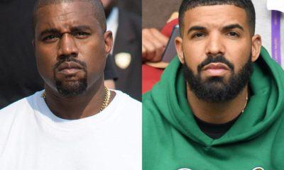 Image Kanye West Drake conflit
