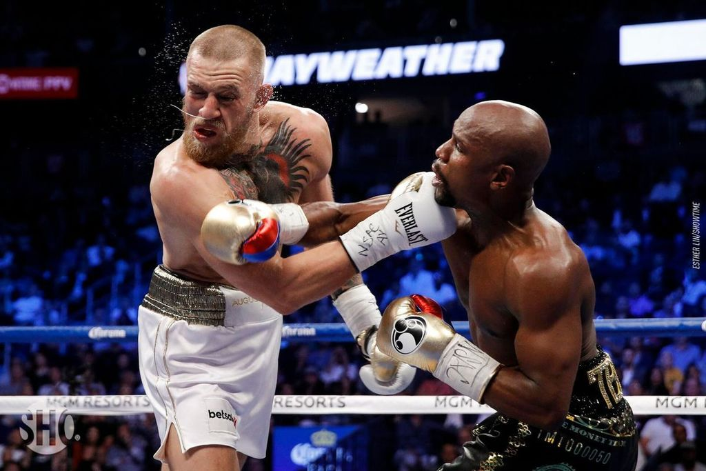 Image Mc Gregor Revanche Floyd Maywheather