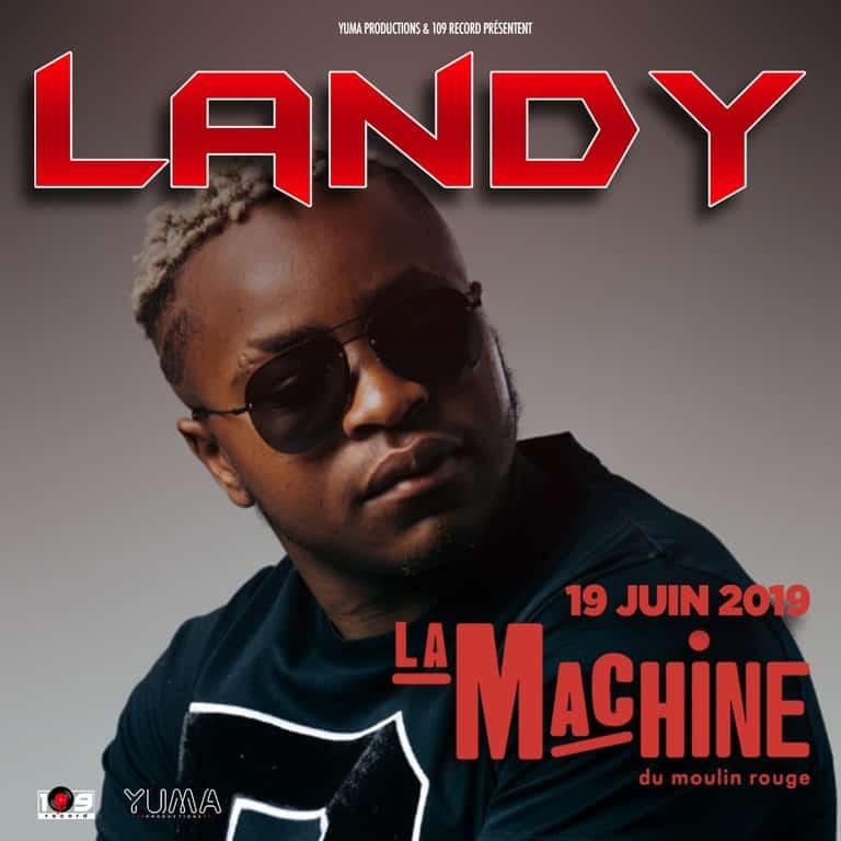 Image Concert Landy machine Moulin rouge 2019