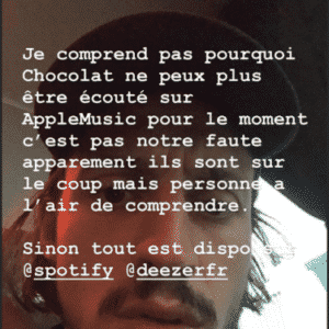 Image Romeo Elvis enervé Apple music 1