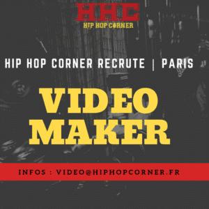 Hip Hop Corner recrute video maker image