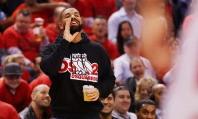 Iage drake toronto raptos vs milwaukee bucks 2019