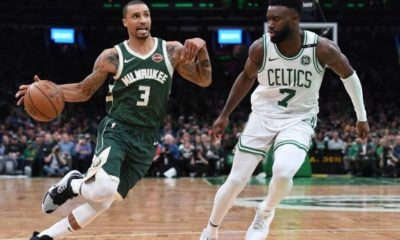 image georges hill vs jaylen brown playoffs 2019 celtics bucks