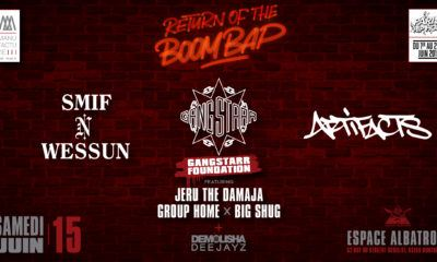image return of the boom bap concert gang starr foundation