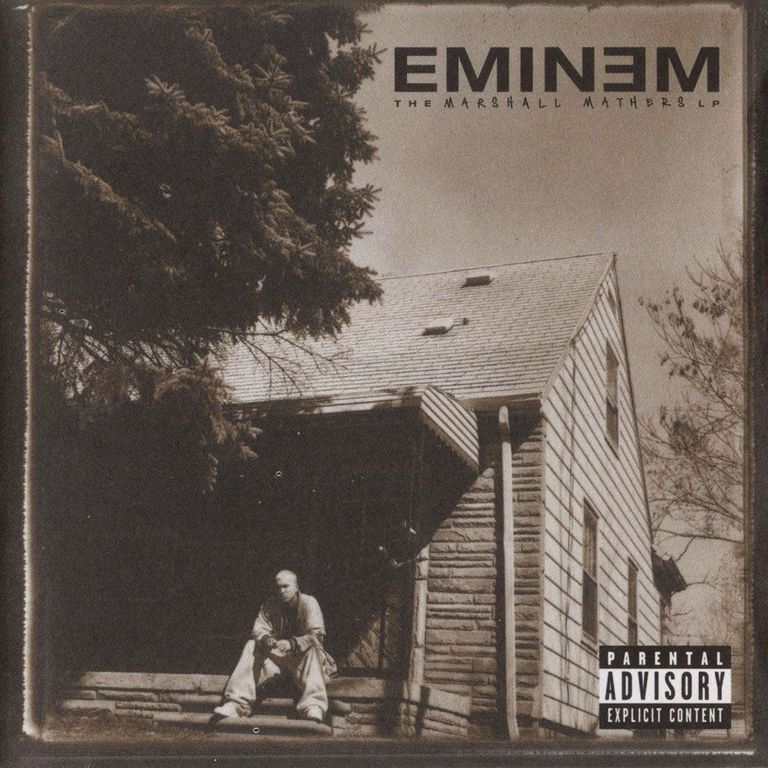 image the marshall mathers lp cover eminem