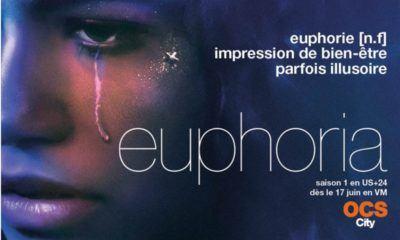 Euphoria, la série produite par Drake est diffusée en exclusivité française