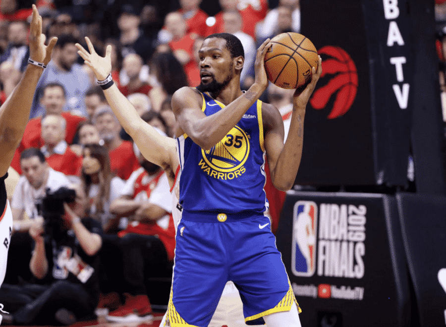 image kevin durant game 5 nba finals 2019