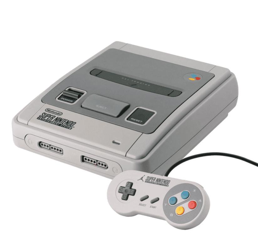 image super nintendo console