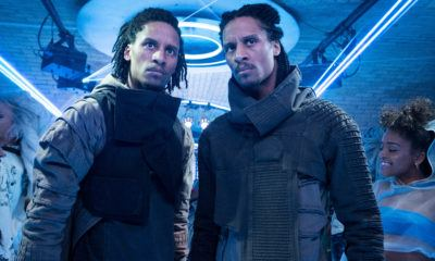 Les Twins men in black international film